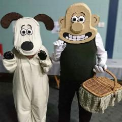 Wallace and Gromit Quiz Night Costumes