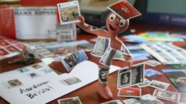 New Aardman Isle of Man Stamps Launched!