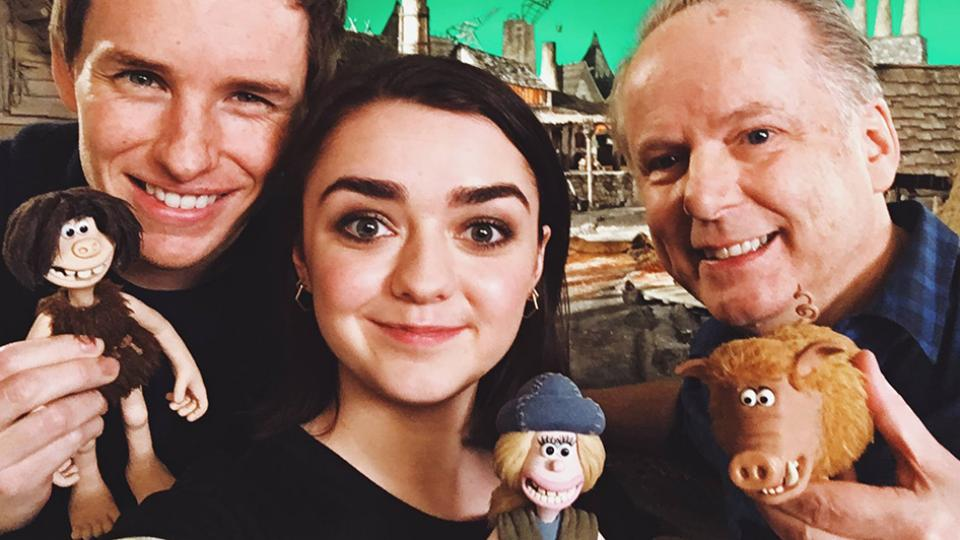Maisie Williams Joins Cast of Nick Park's Early Man Film!