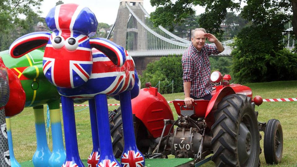 Shaun in the City Arrives in Bristol!