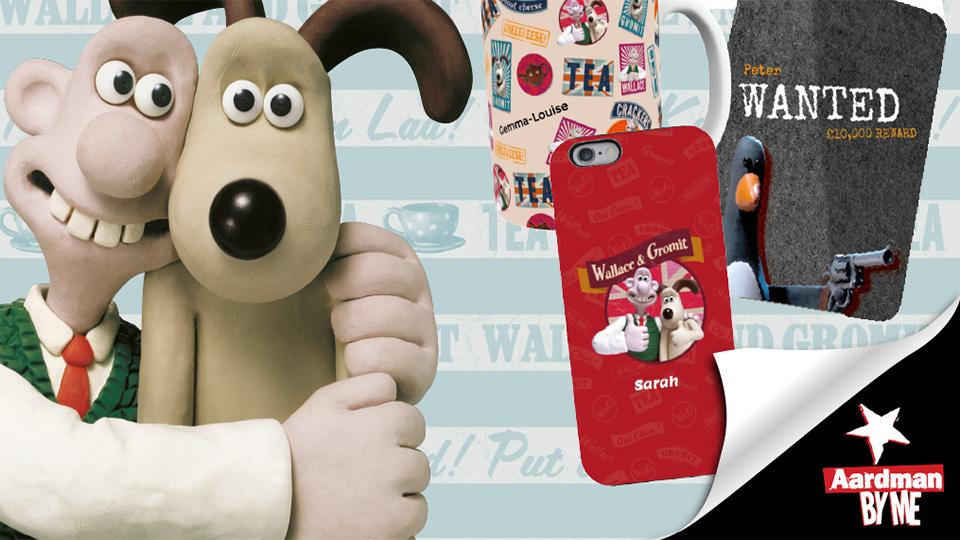 Personalised Wallace and Gromit Gifts With Aardman By Me!